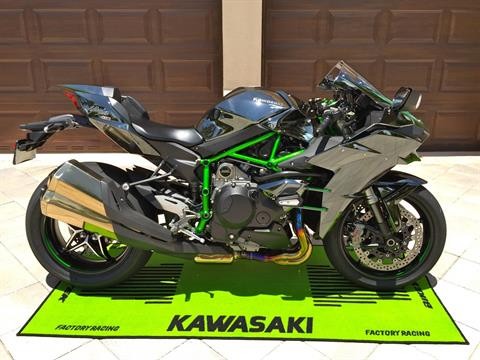 2015 Kawasaki Ninja H2™ in Hialeah, Florida