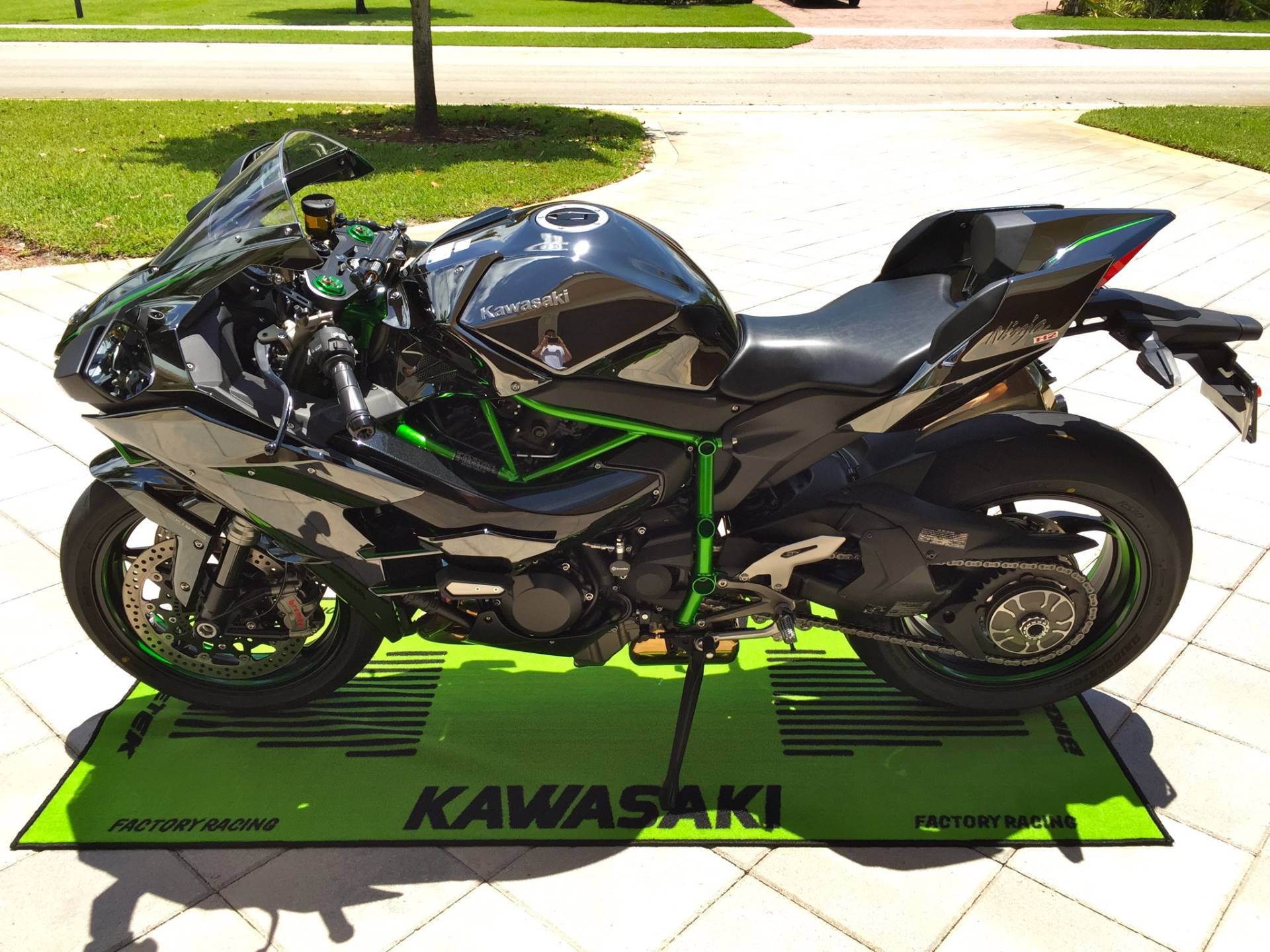 2015 kawasaki ninja h2 for sale hialeah fl 12337. Black Bedroom Furniture Sets. Home Design Ideas