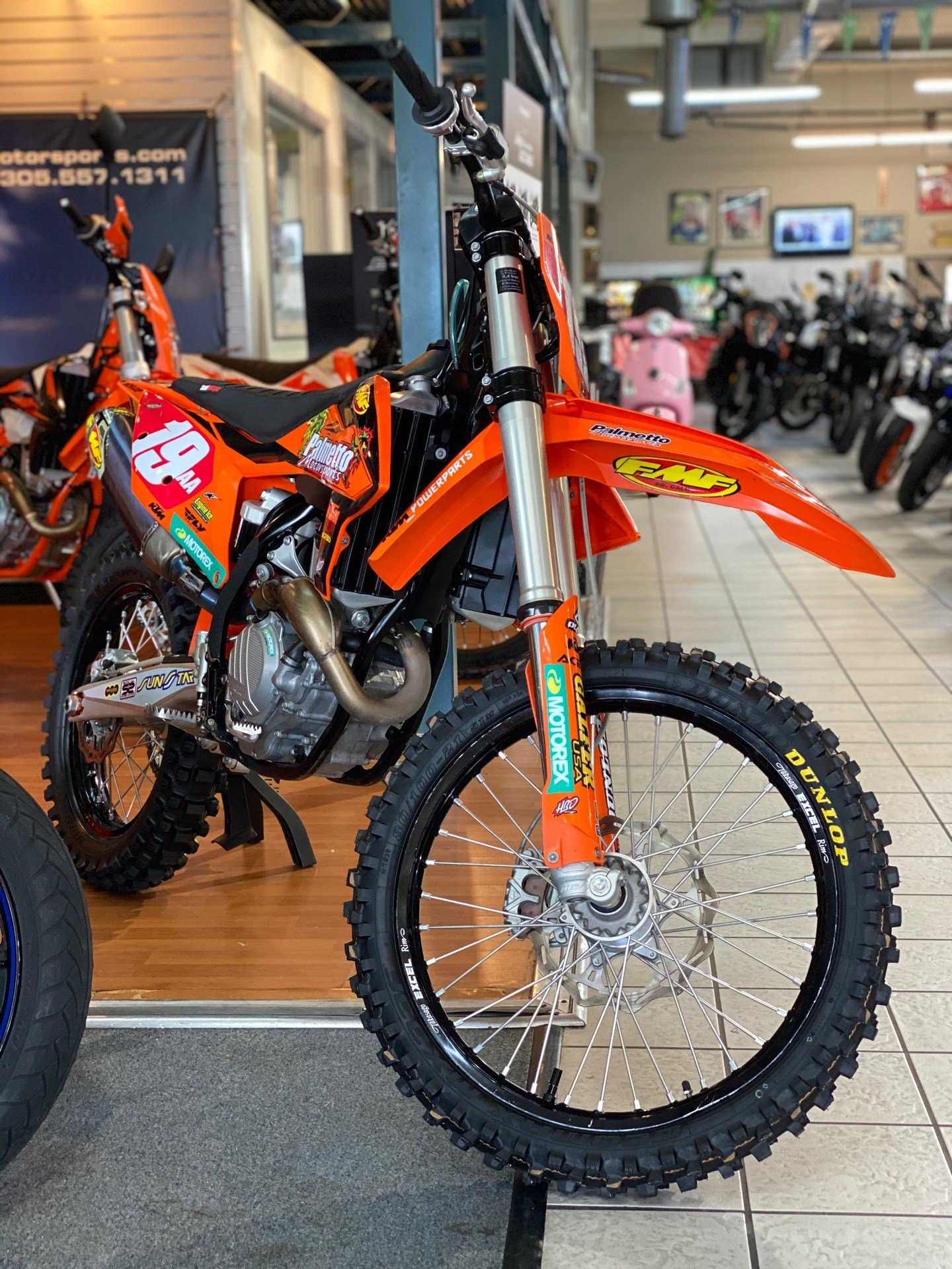 2019 KTM 350 SX-F in Hialeah, Florida - Photo 6