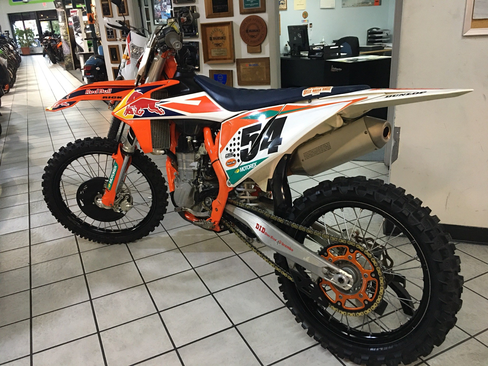 2018 KTM 450 SX-F Factory Edition in Hialeah, Florida - Photo 5