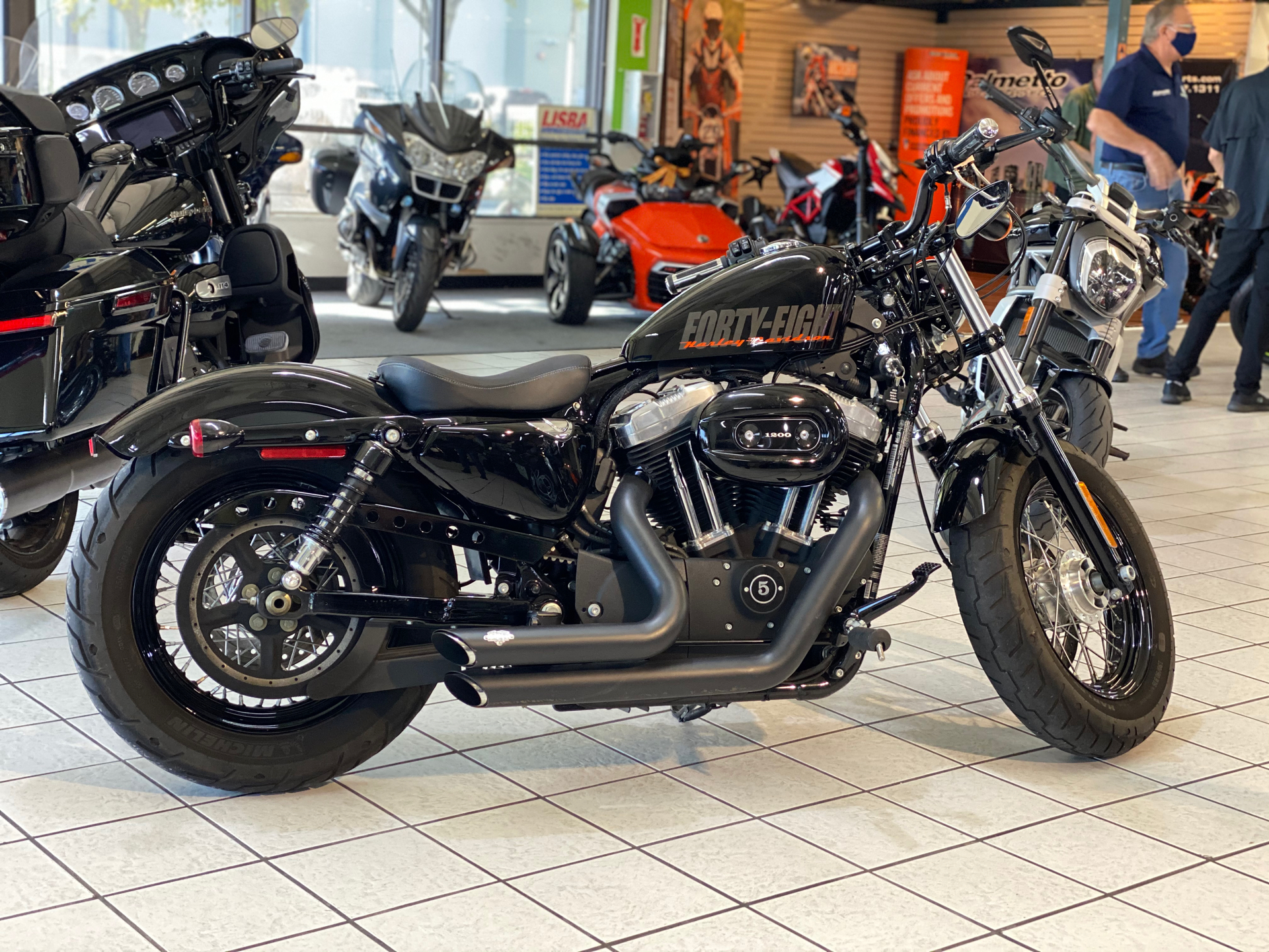 Used 2014 Harley Davidson Sportster Forty Eight Motorcycles In Hialeah Fl