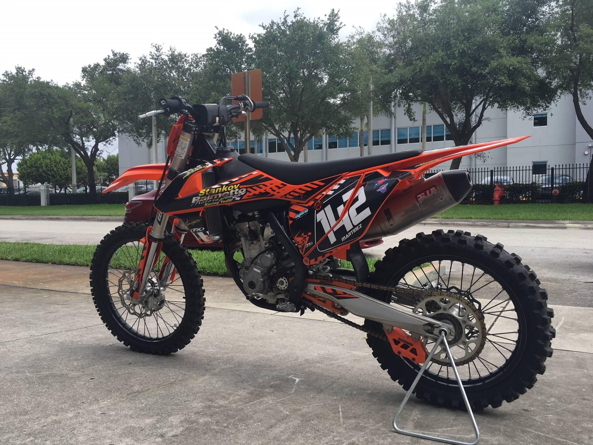 2017 250 SX-F