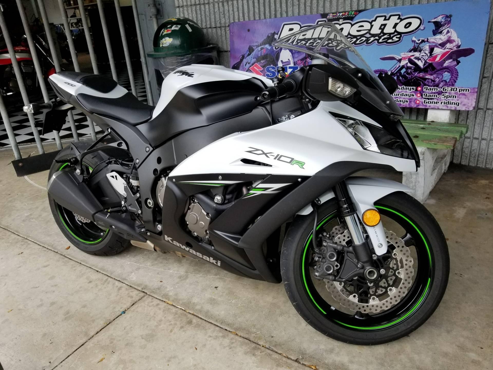 Used 2014 Kawasaki Ninja Zx 10r Abs Motorcycles In Hialeah Fl