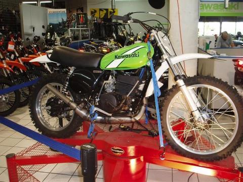 1976 Kawasaki KX250 in Hialeah, Florida