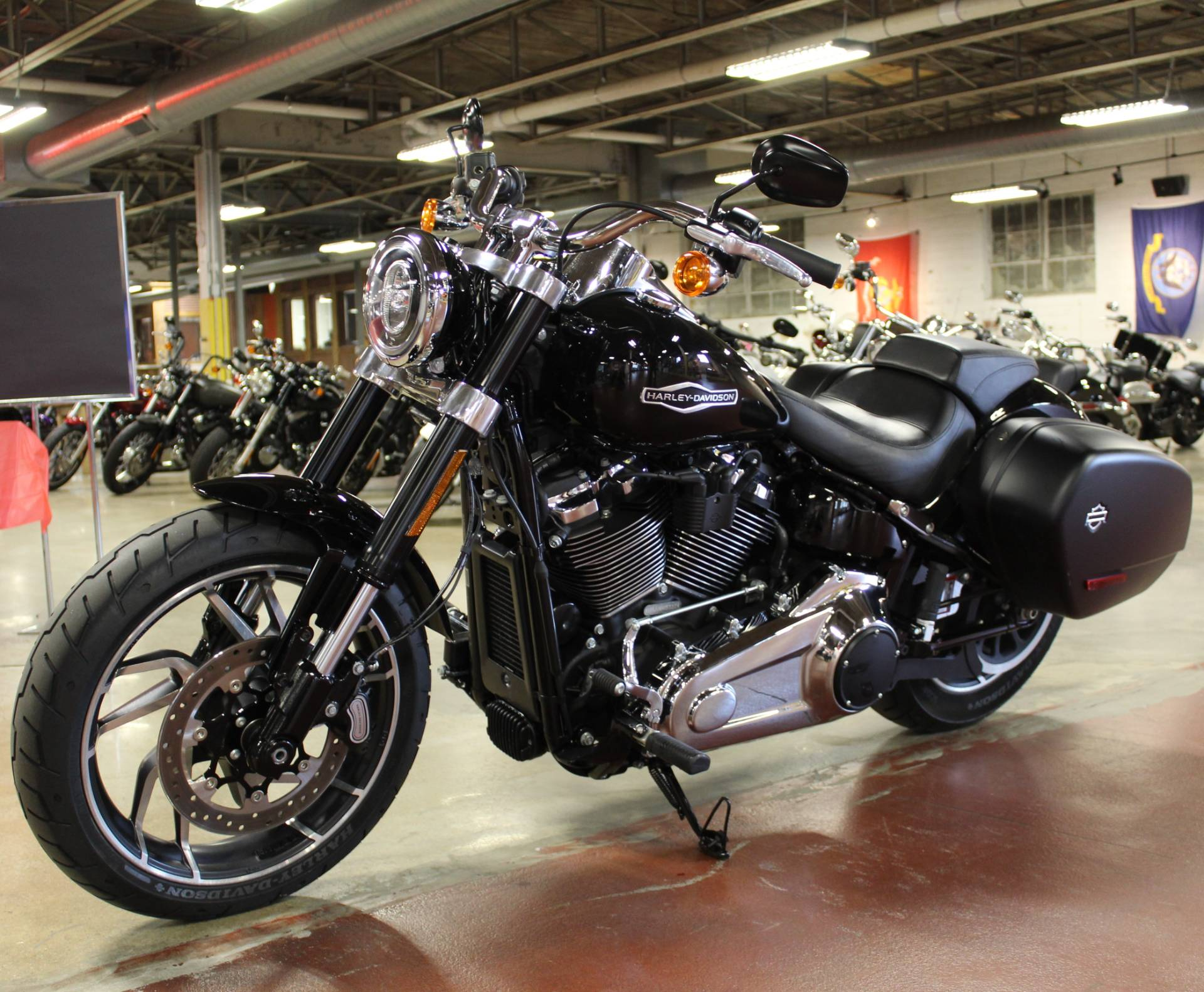 Used 2018 Harley-Davidson Sport Glide® Vivid Black