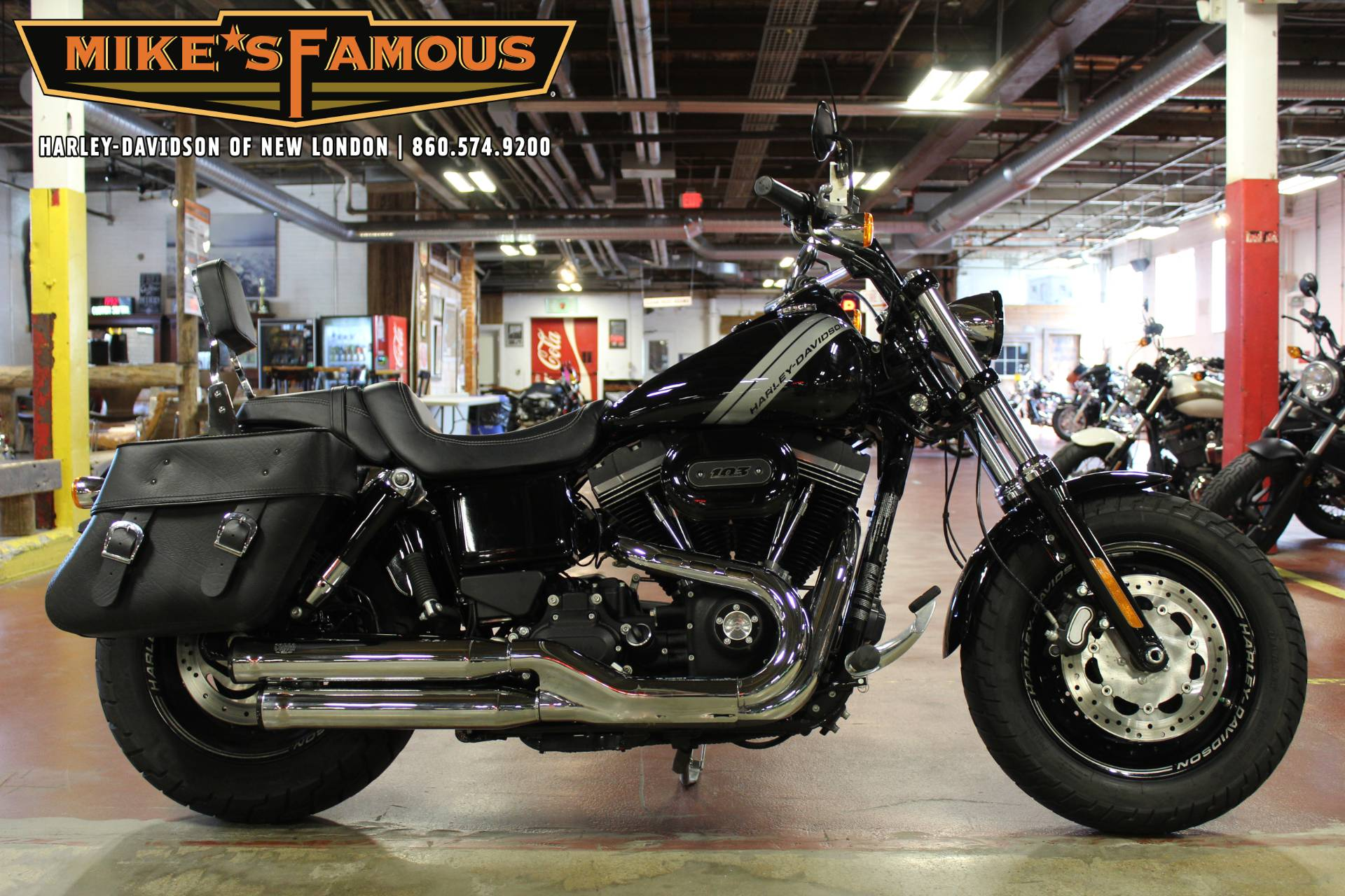 2016 Harley-Davidson Fat Bob® in New London, Connecticut - Photo 1