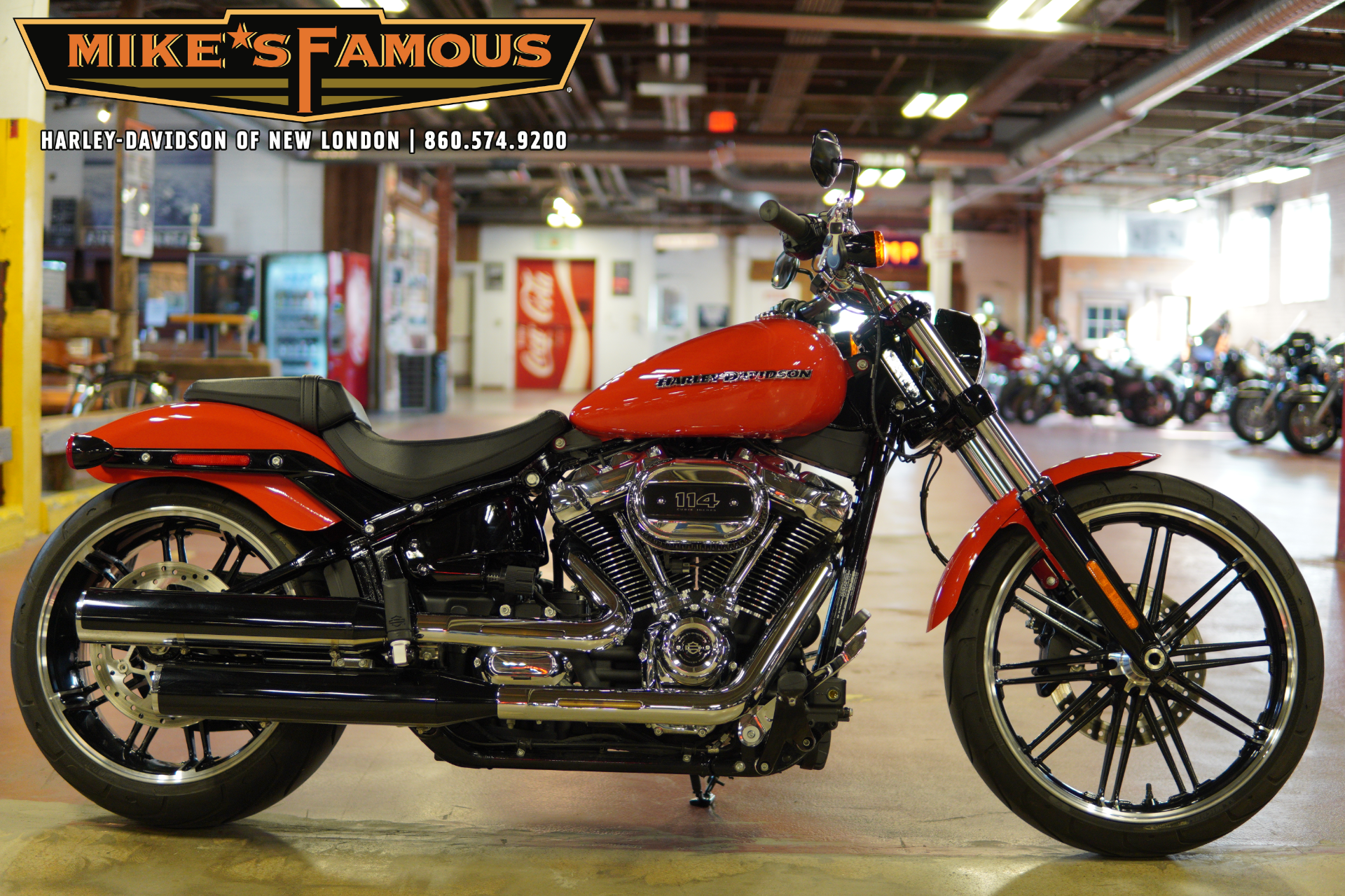 2020 Harley-Davidson Breakout® 114 in New London, Connecticut - Photo 1