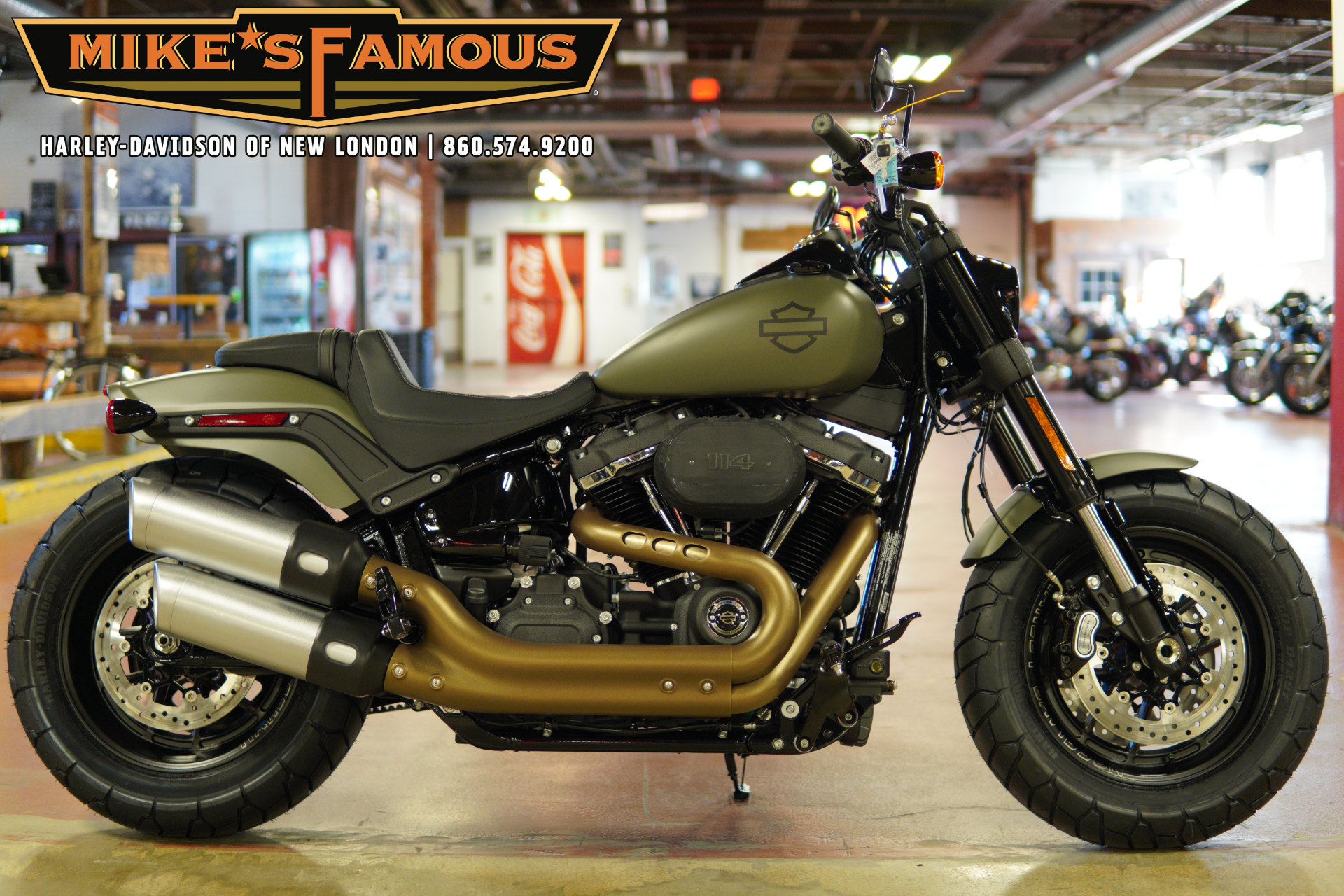 2021 Harley-Davidson Fat Bob® 114 in New London, Connecticut - Photo 1