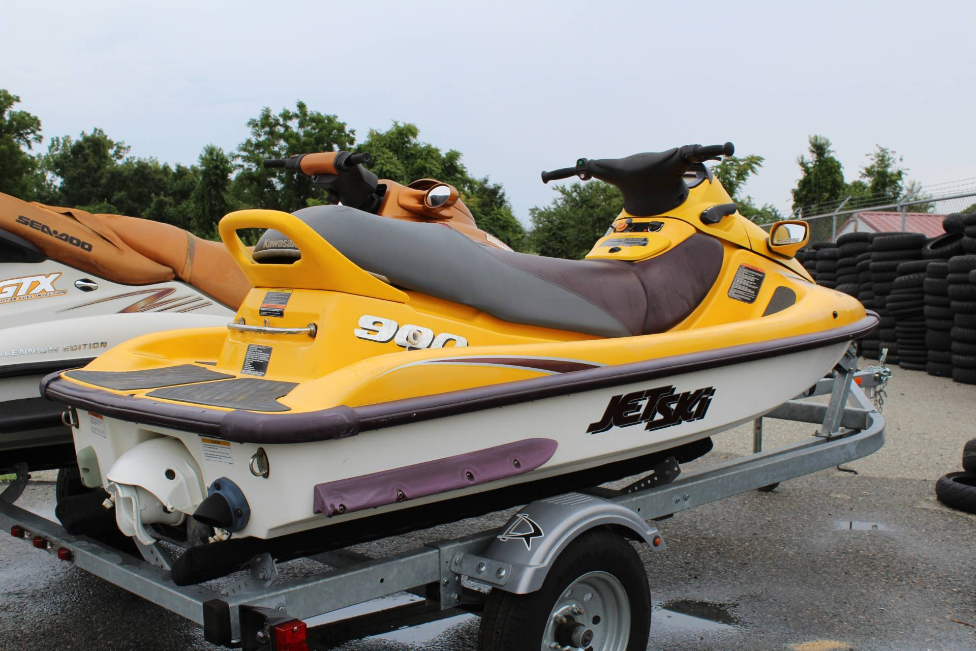 1999 Kawasaki Jet Ski 900 STX Watercraft in New London, Connecticut - Photo 2