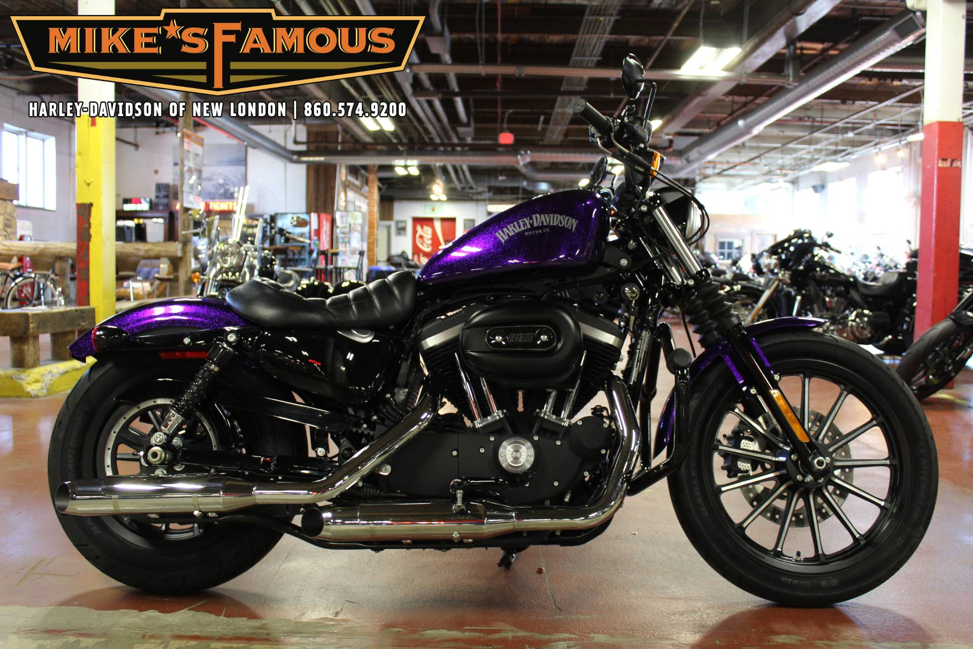 2014 Harley-Davidson Sportster® Iron 883™ in New London, Connecticut - Photo 1