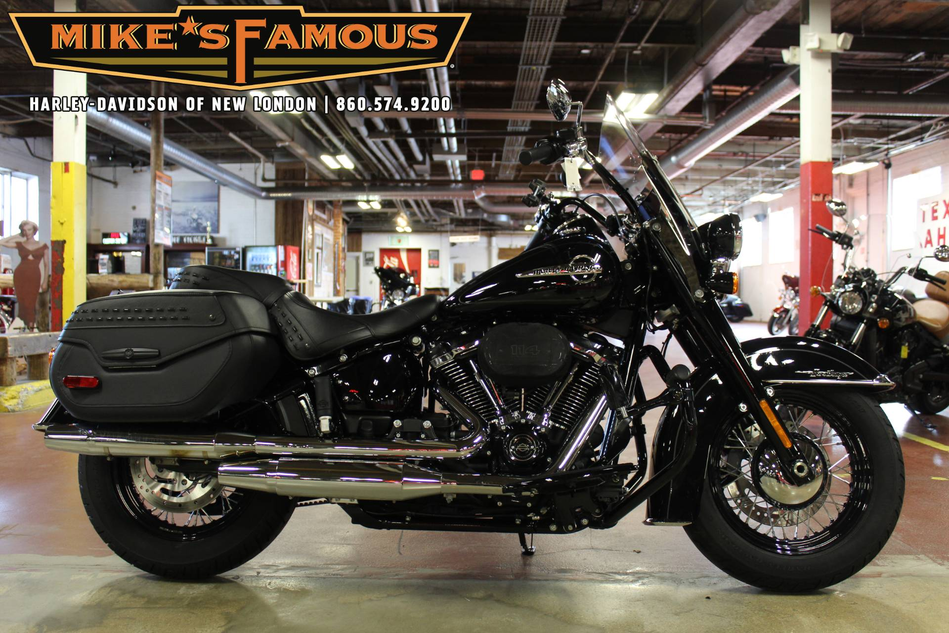 2019 Harley-Davidson Heritage Classic 114 in New London, Connecticut - Photo 1