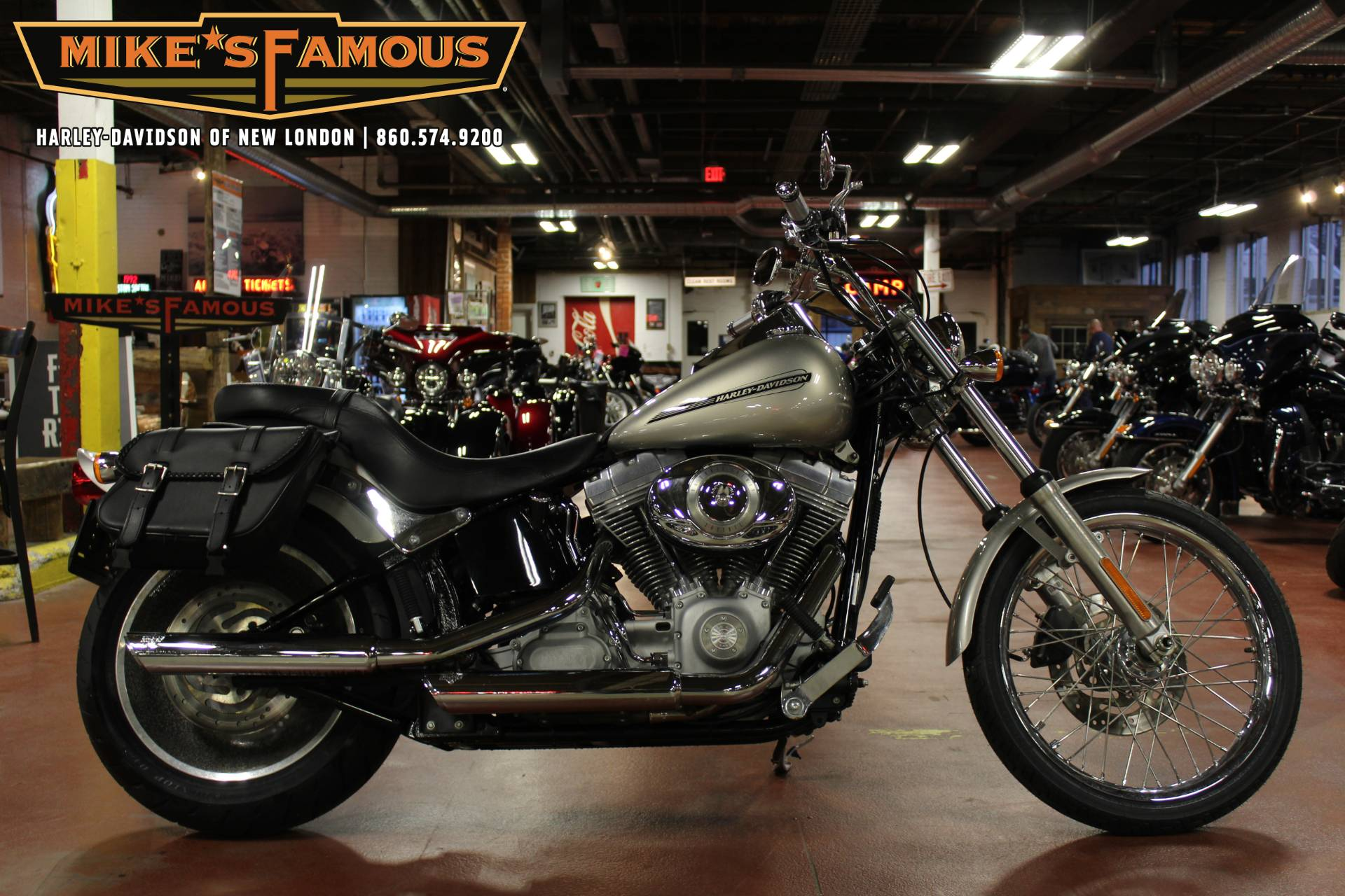 2007 Harley-Davidson FXSTC Softail® Custom in New London, Connecticut - Photo 1