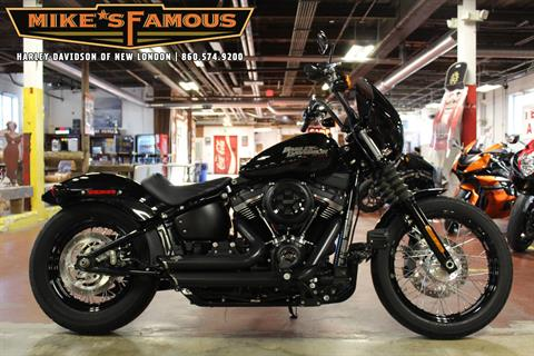 2018 Harley-Davidson Street Bob® 107 in New London, Connecticut - Photo 1