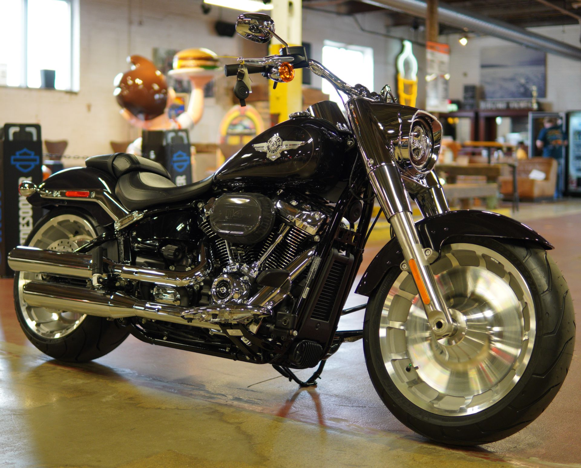 2021 Harley-Davidson Fat Boy® 114 in New London, Connecticut - Photo 2