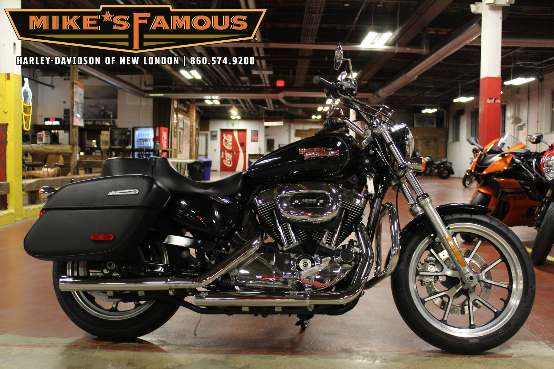 2014 Harley-Davidson SuperLow® 1200T in New London, Connecticut - Photo 1