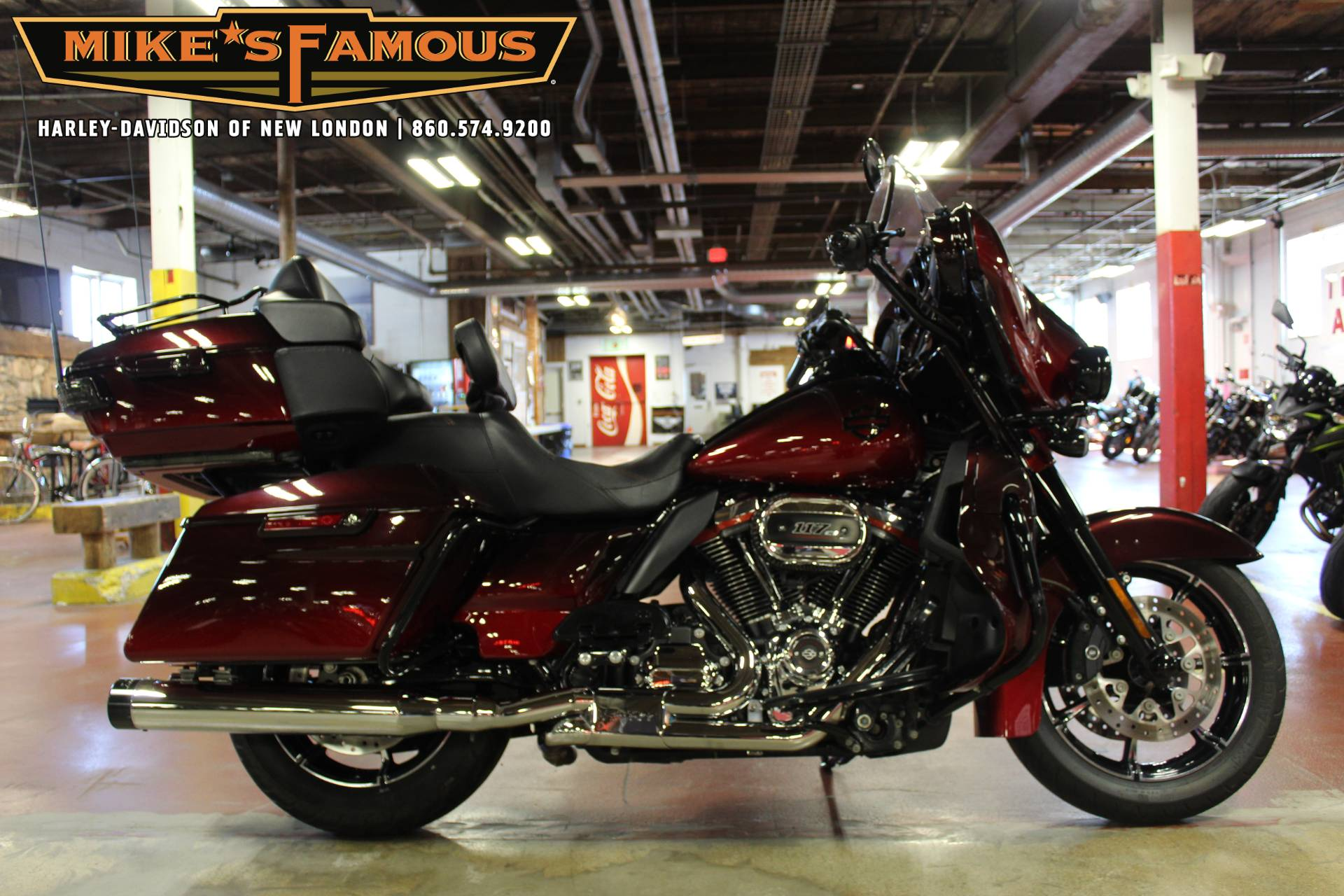 2018 Harley-Davidson CVO™ Limited in New London, Connecticut - Photo 1