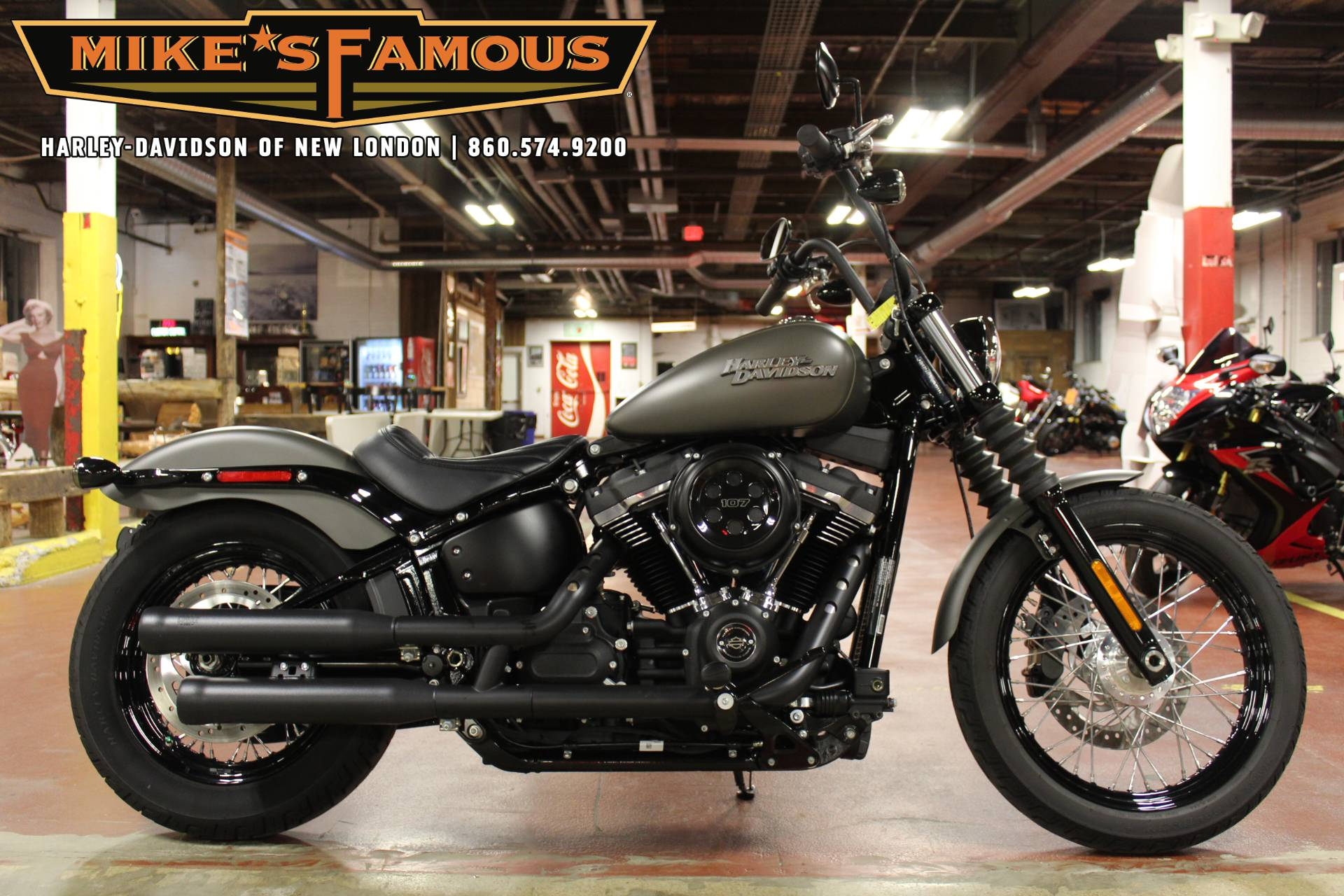 2019 Harley-Davidson Street Bob® in New London, Connecticut - Photo 1
