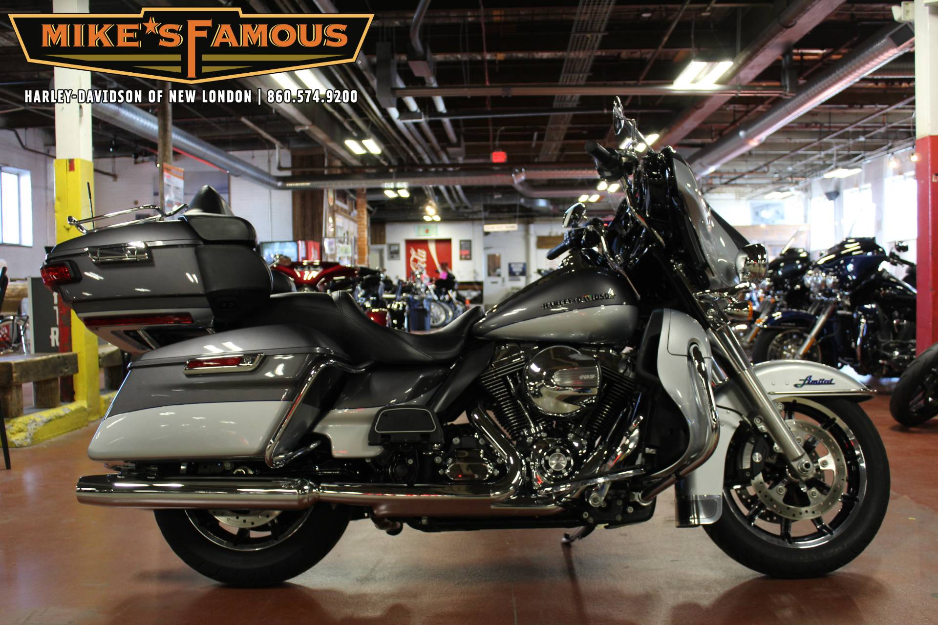 2014 Harley-Davidson Ultra Limited in New London, Connecticut - Photo 1