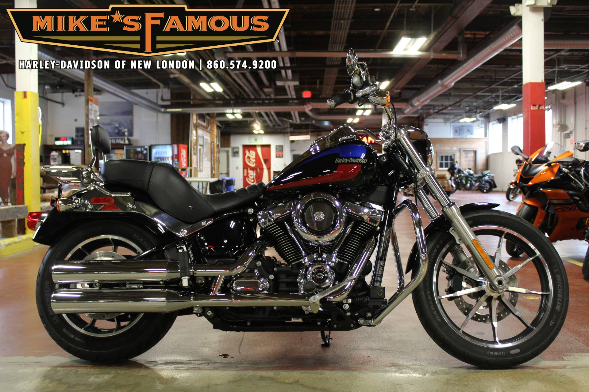 2018 Harley-Davidson Low Rider® 107 in New London, Connecticut - Photo 1