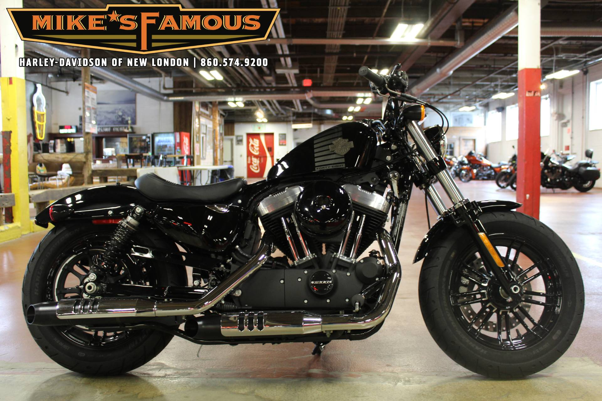 2018 Harley-Davidson Forty-Eight® in New London, Connecticut - Photo 1