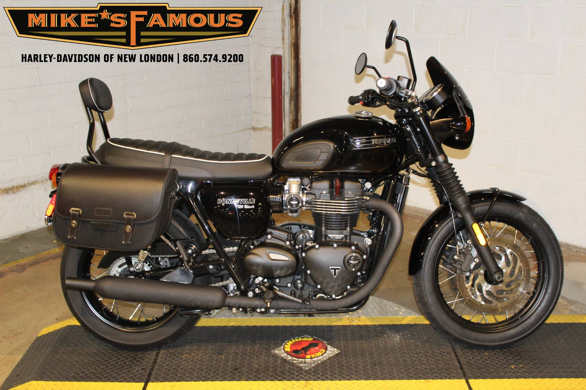 2018 Triumph Bonneville T120 in New London, Connecticut - Photo 1