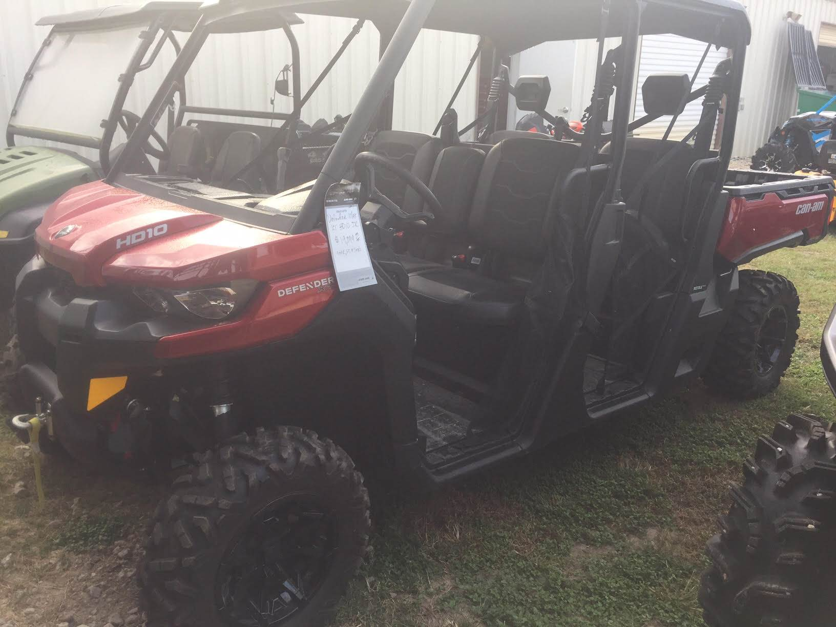 2017 Can-Am Defender MAX XT HD10 in Livingston, Texas