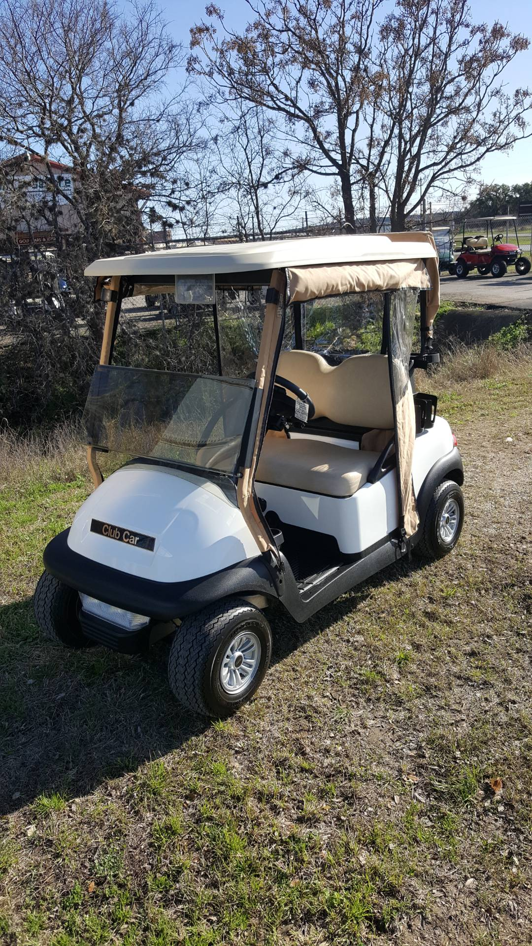 2015 Club Car CLUB CAR PRECEDENT WHITE in Kerrville, Texas