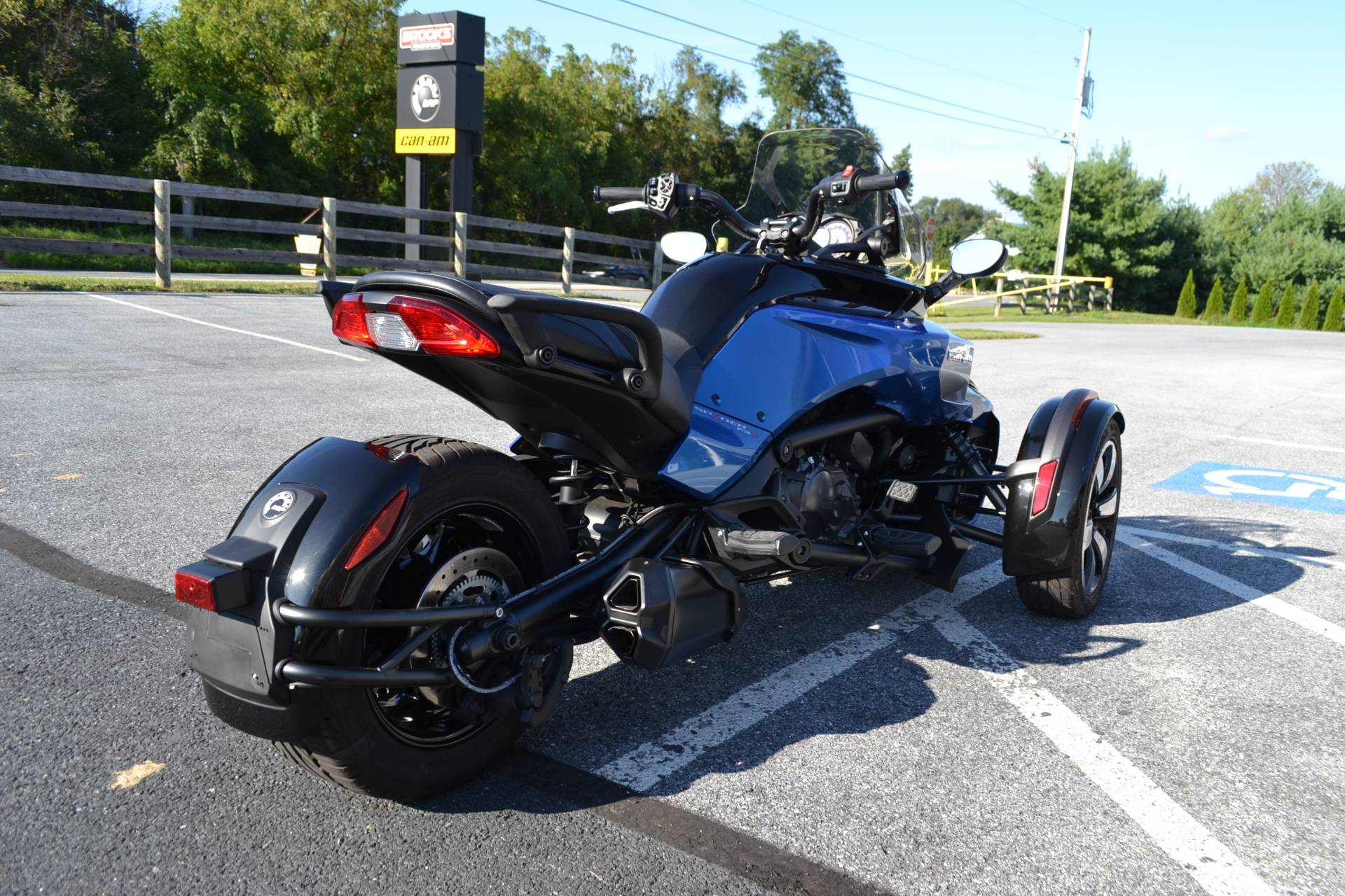 2017 Can-Am Spyder F3-S SM6 in Grantville, Pennsylvania