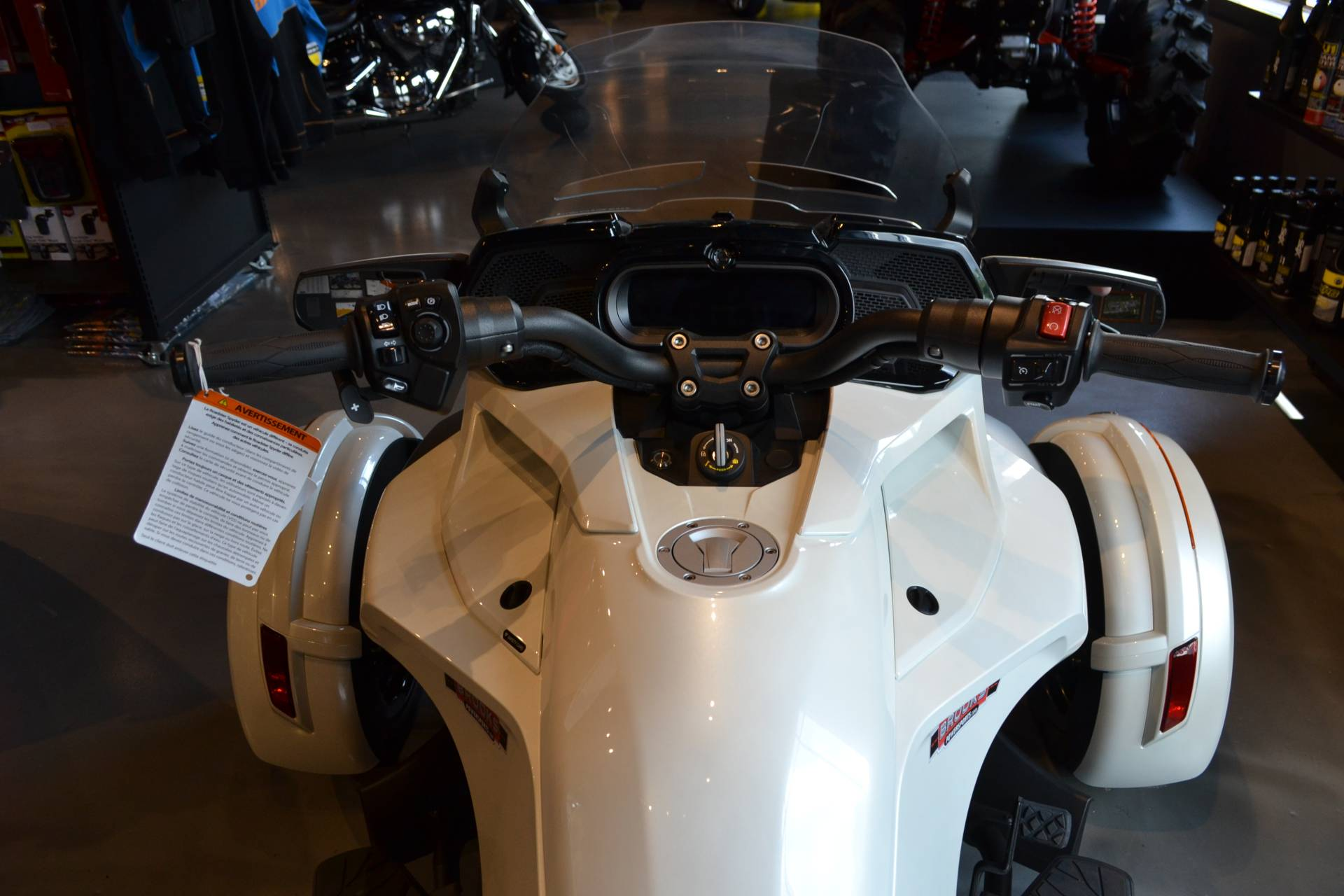 2018 Can-Am Spyder F3 Limited in Grantville, Pennsylvania
