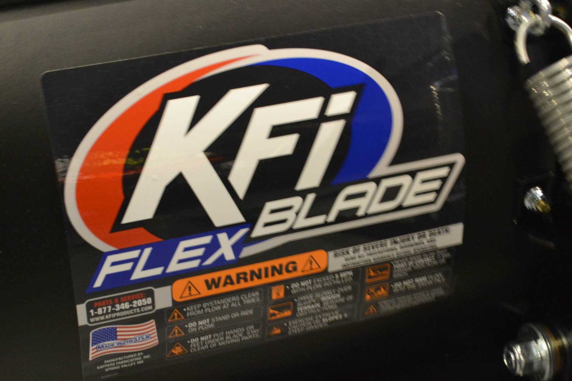 "2019 KFI Products 50"" KFI Poly ATV Plow in Grantville, Pennsylvania - Photo 3"