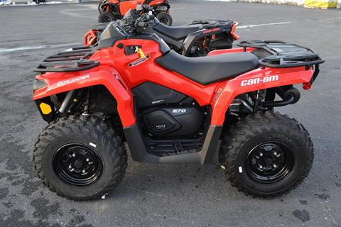 2018 Can-Am Outlander 570 in Grantville, Pennsylvania