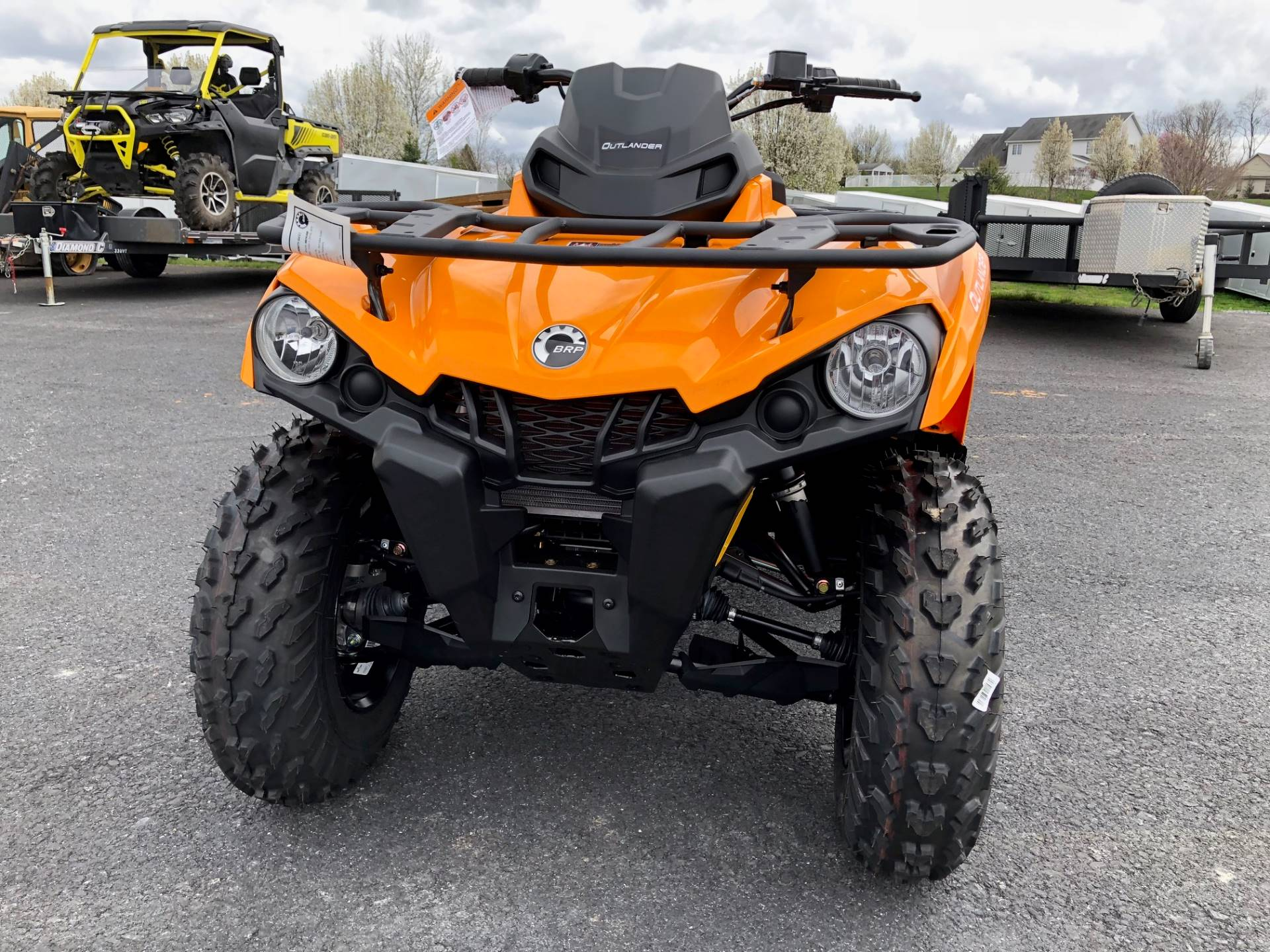 2018 Can-Am Outlander DPS 450 in Grantville, Pennsylvania