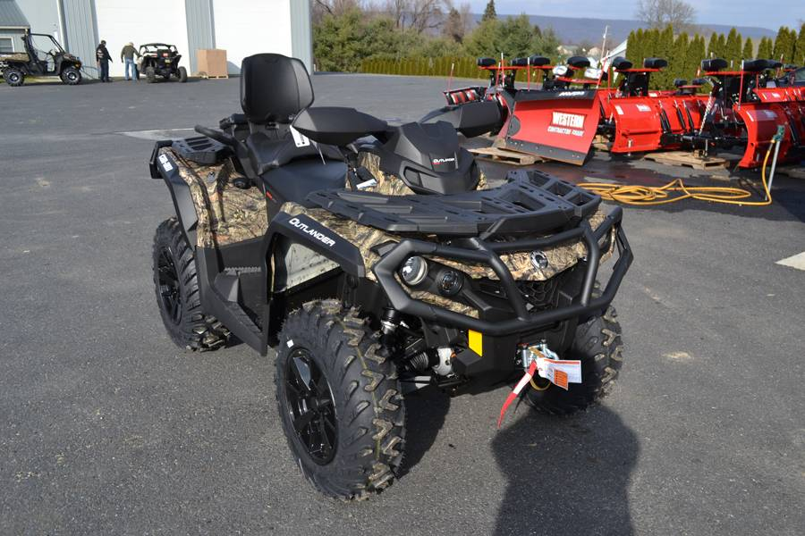 2019 Can-Am Outlander MAX XT 650 in Grantville, Pennsylvania