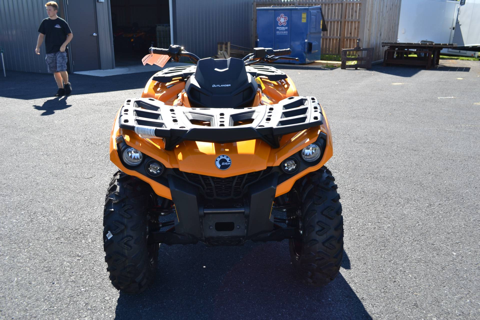 2018 Can-Am Outlander DPS 650 in Grantville, Pennsylvania