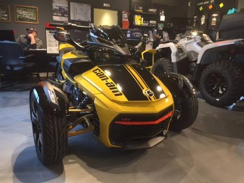 2017 Can-Am Spyder F3-S Daytona 500 SE6 in Grantville, Pennsylvania