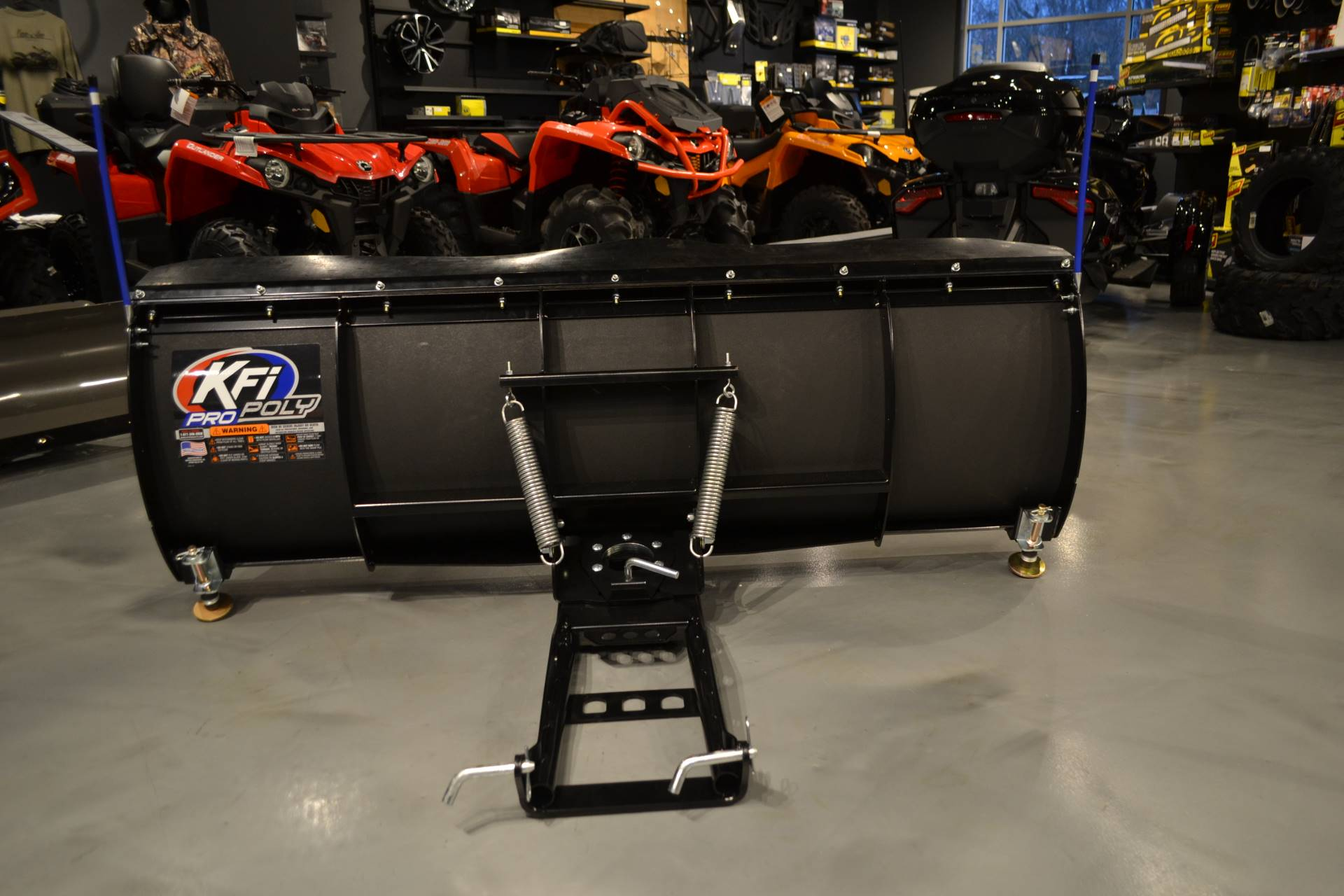 "2019 KFI Products 60"" KFI Poly UTV Plow in Grantville, Pennsylvania - Photo 5"