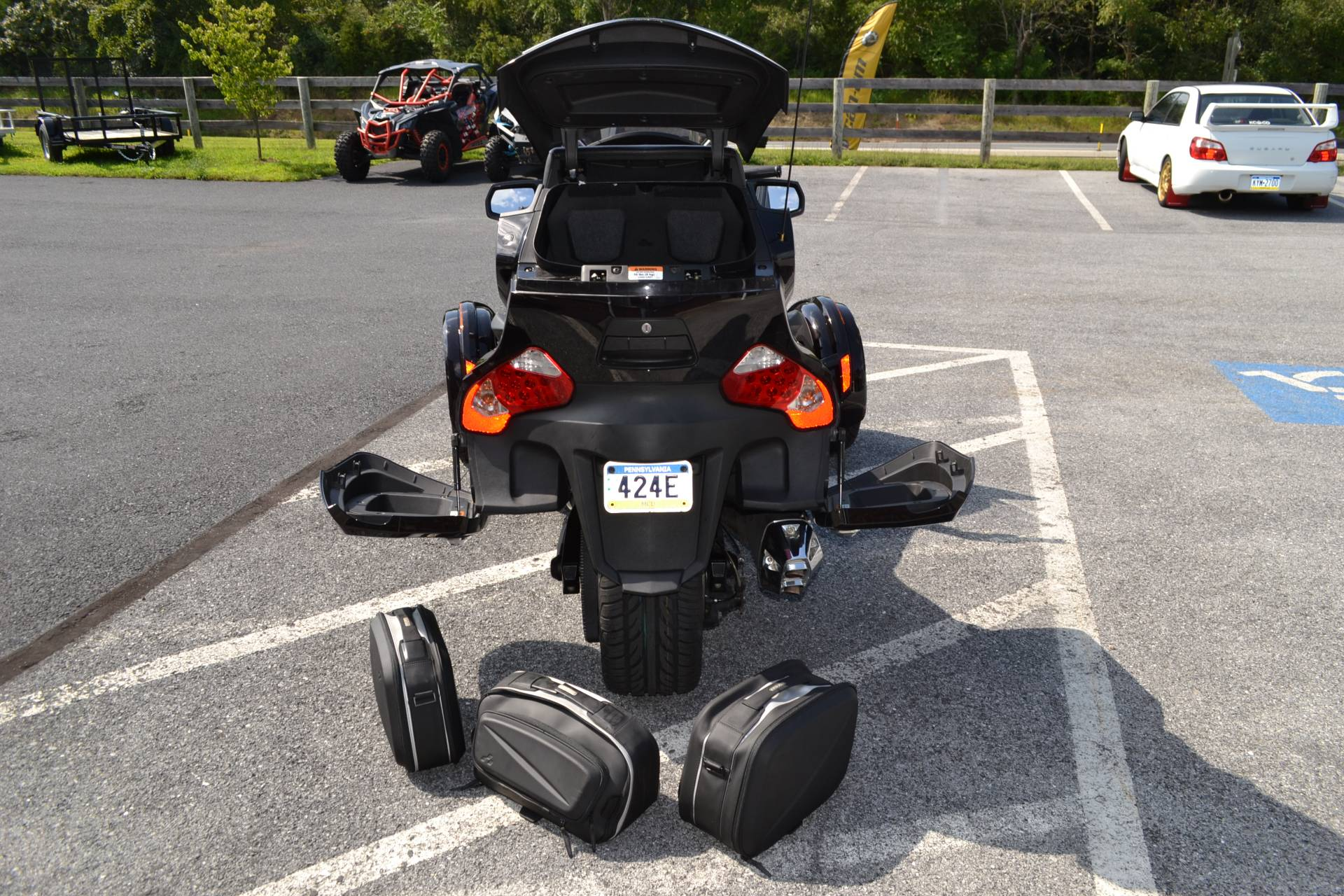 2013 Can-Am Spyder® RT Limited in Grantville, Pennsylvania - Photo 7