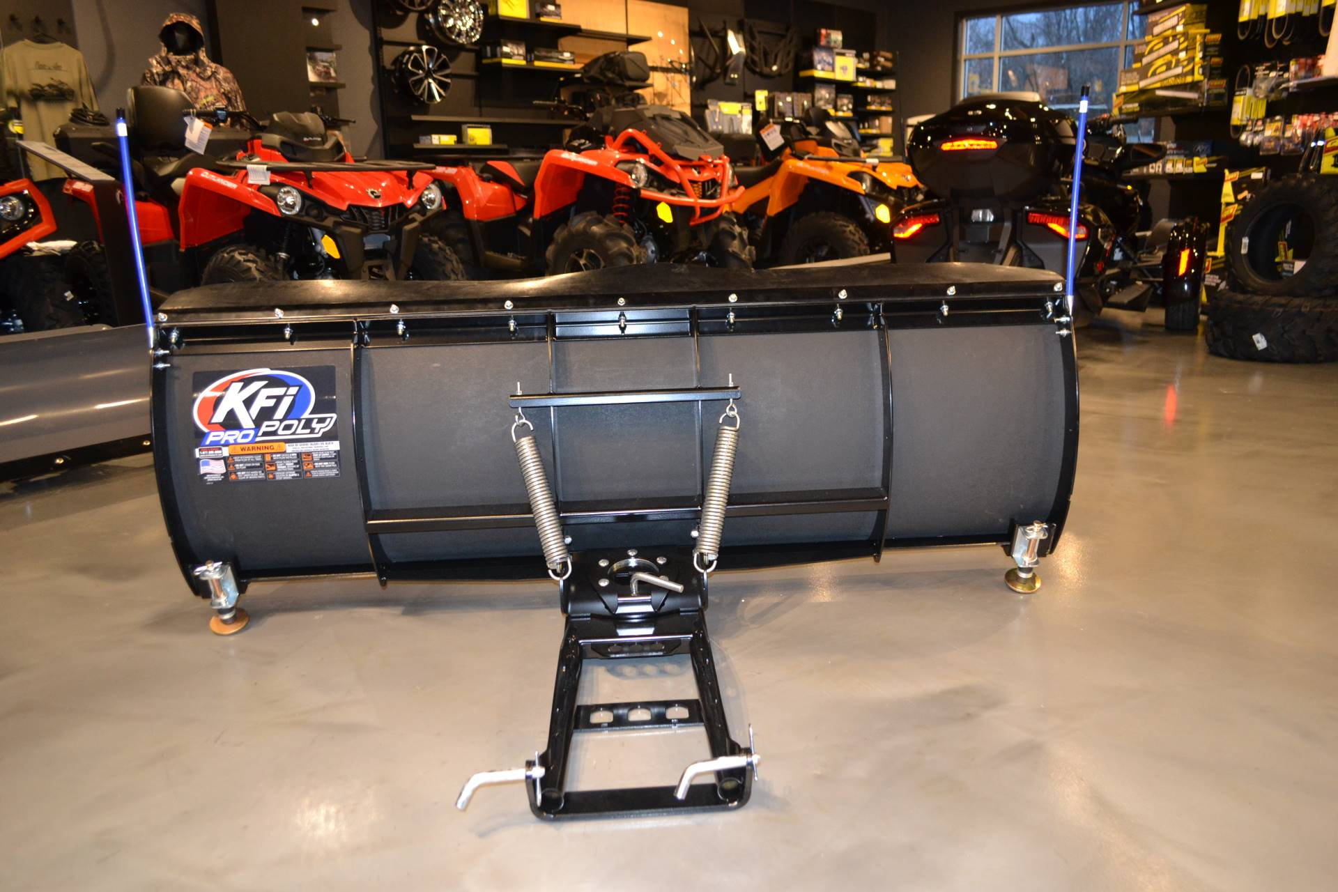 "2019 KFI Products 72"" KFI Poly UTV Plow in Grantville, Pennsylvania - Photo 3"