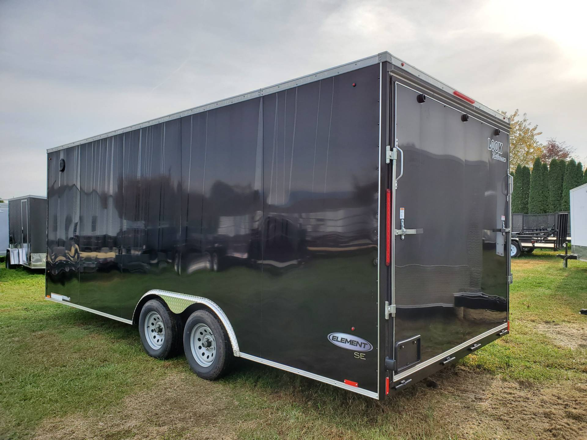 2020 Look Trailers 8.5X20 EWLC Cargo Trailer Ramp ET+6 in Harrisburg, Pennsylvania - Photo 2