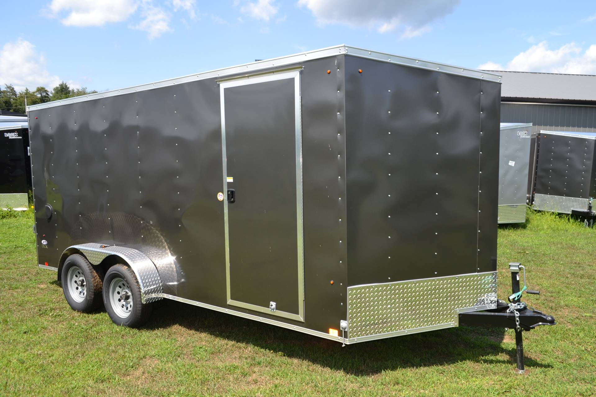 2021 Look Trailers 7X16 STDLX Cargo Trailer Ramp +6 in Harrisburg, Pennsylvania - Photo 2
