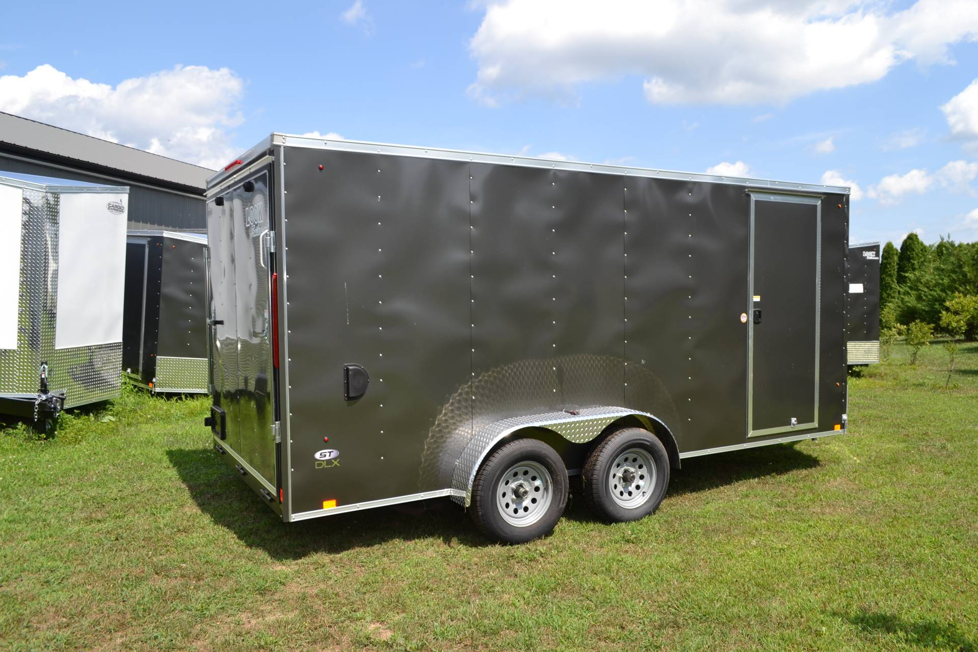 2021 Look Trailers 7X16 STDLX Cargo Trailer Ramp +6 in Harrisburg, Pennsylvania - Photo 3