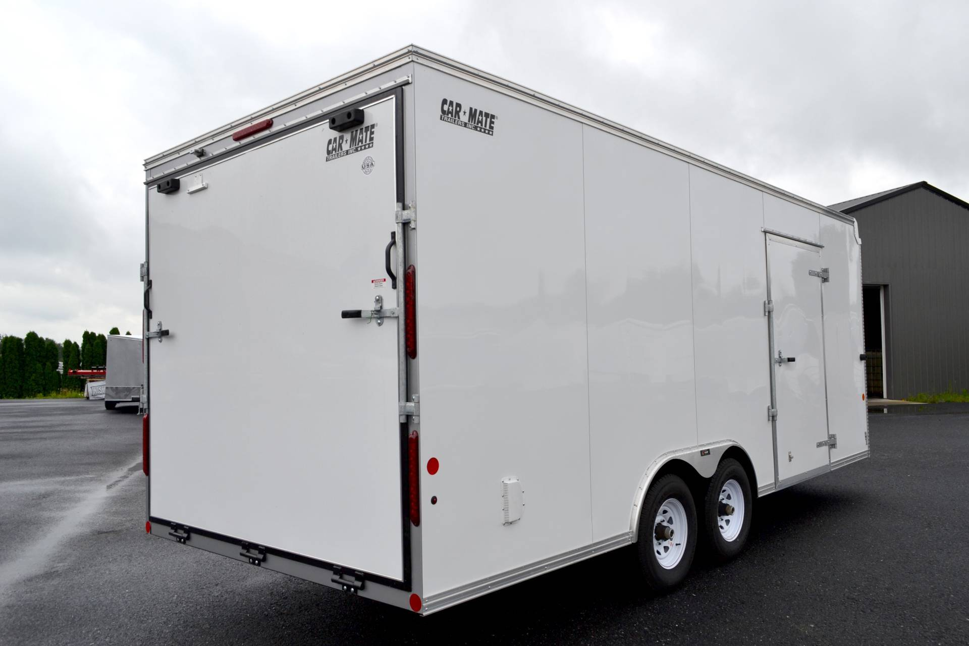 2020 Car Mate Trailers 8X20 Custom Car Hauler 10K ET+6 in Harrisburg, Pennsylvania - Photo 2