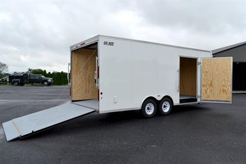 2020 Car Mate Trailers 8X20 Custom Car Hauler 10K ET+6 in Harrisburg, Pennsylvania - Photo 3
