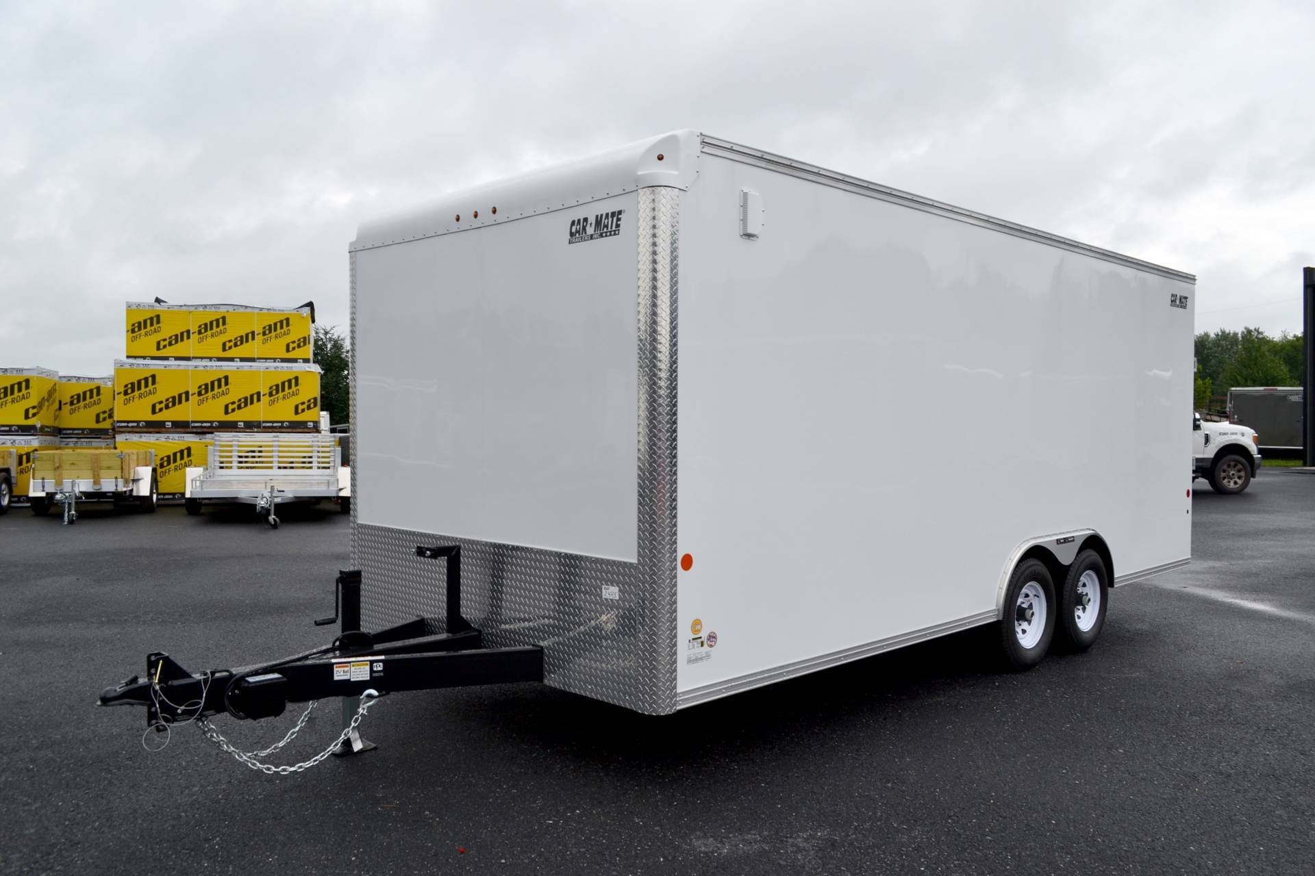 2020 Car Mate Trailers 8X20 Custom Car Hauler 10K ET+6 in Harrisburg, Pennsylvania - Photo 12