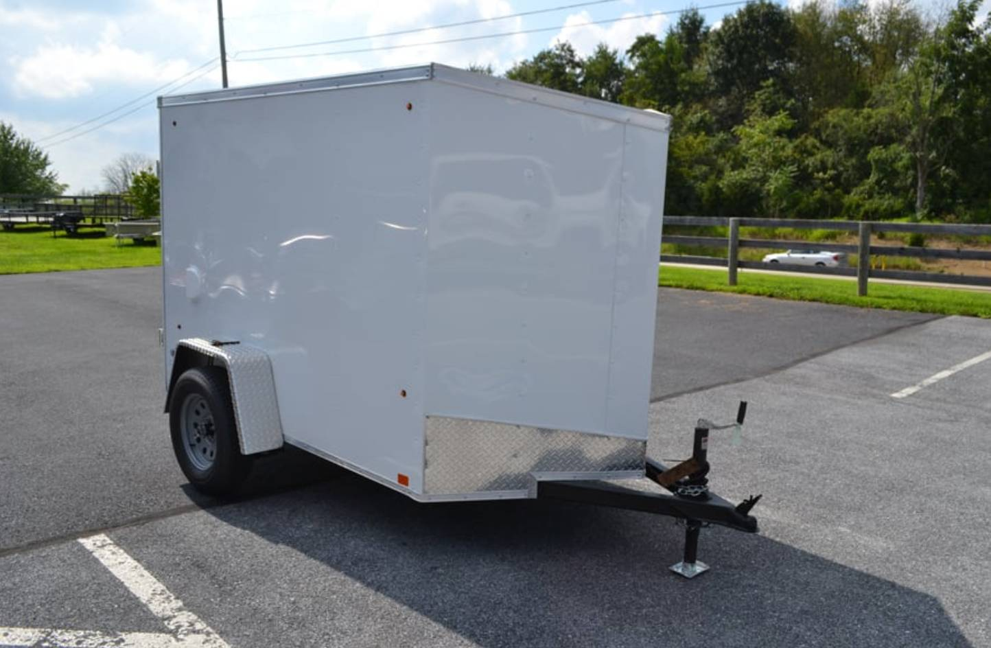 2020 Look Trailers 5X8 STDLX Cargo Trailer Ramp +6 in Harrisburg, Pennsylvania - Photo 1