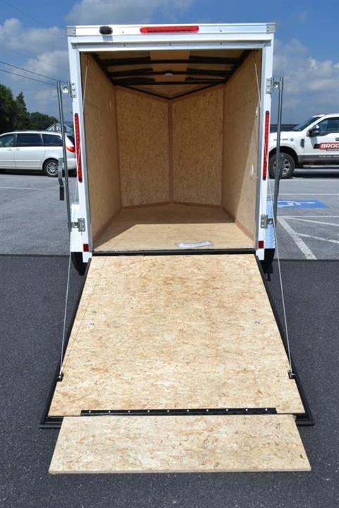 2020 Look Trailers 5X8 STDLX Cargo Trailer Ramp +6 in Harrisburg, Pennsylvania - Photo 10