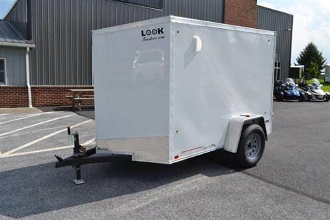 2020 Look Trailers 5X8 STDLX Cargo Trailer Ramp +6 in Harrisburg, Pennsylvania - Photo 11
