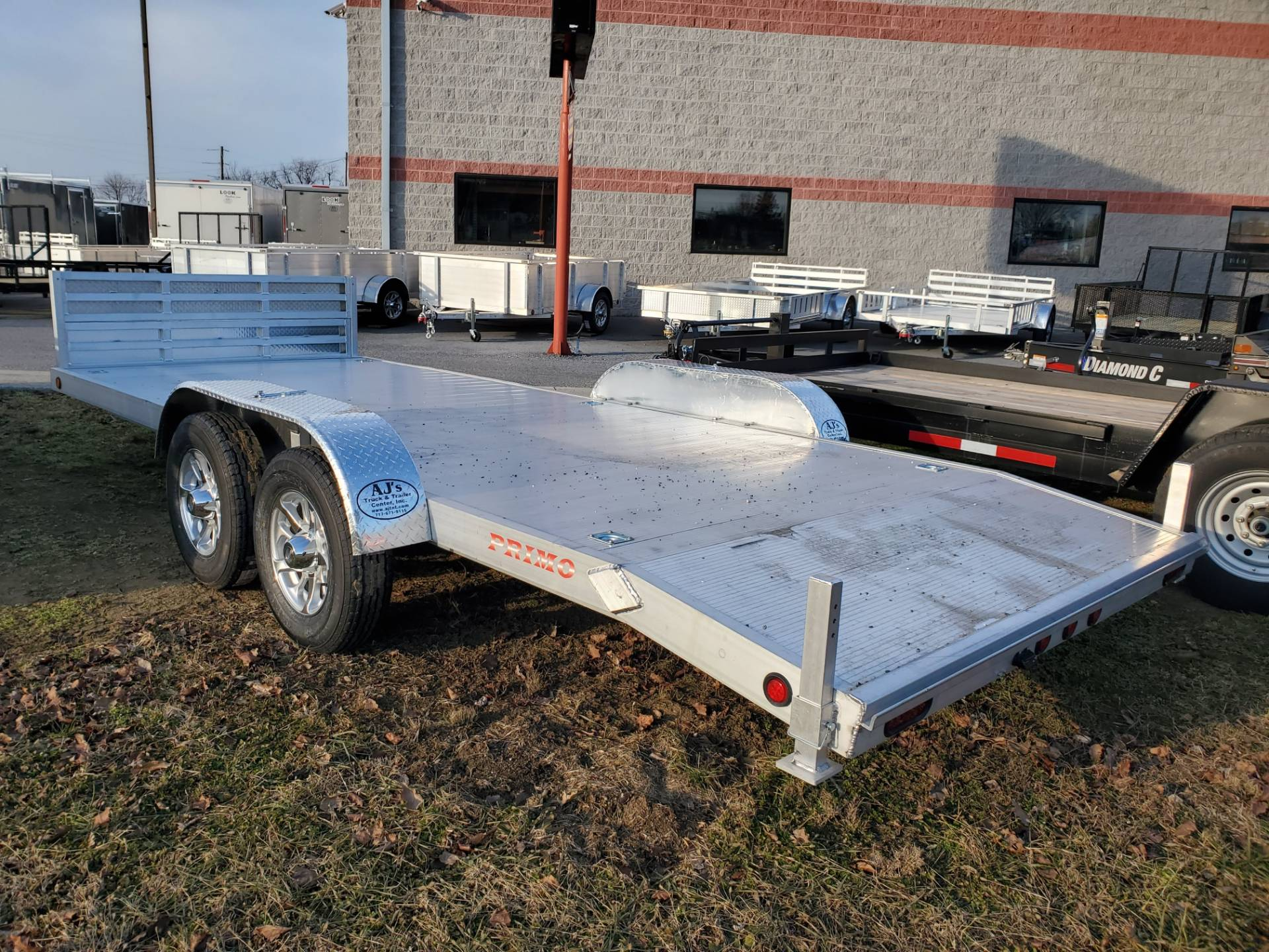 2022 Primo 82X20 Tandem Axle Car Hauler 10K in Harrisburg, Pennsylvania - Photo 8