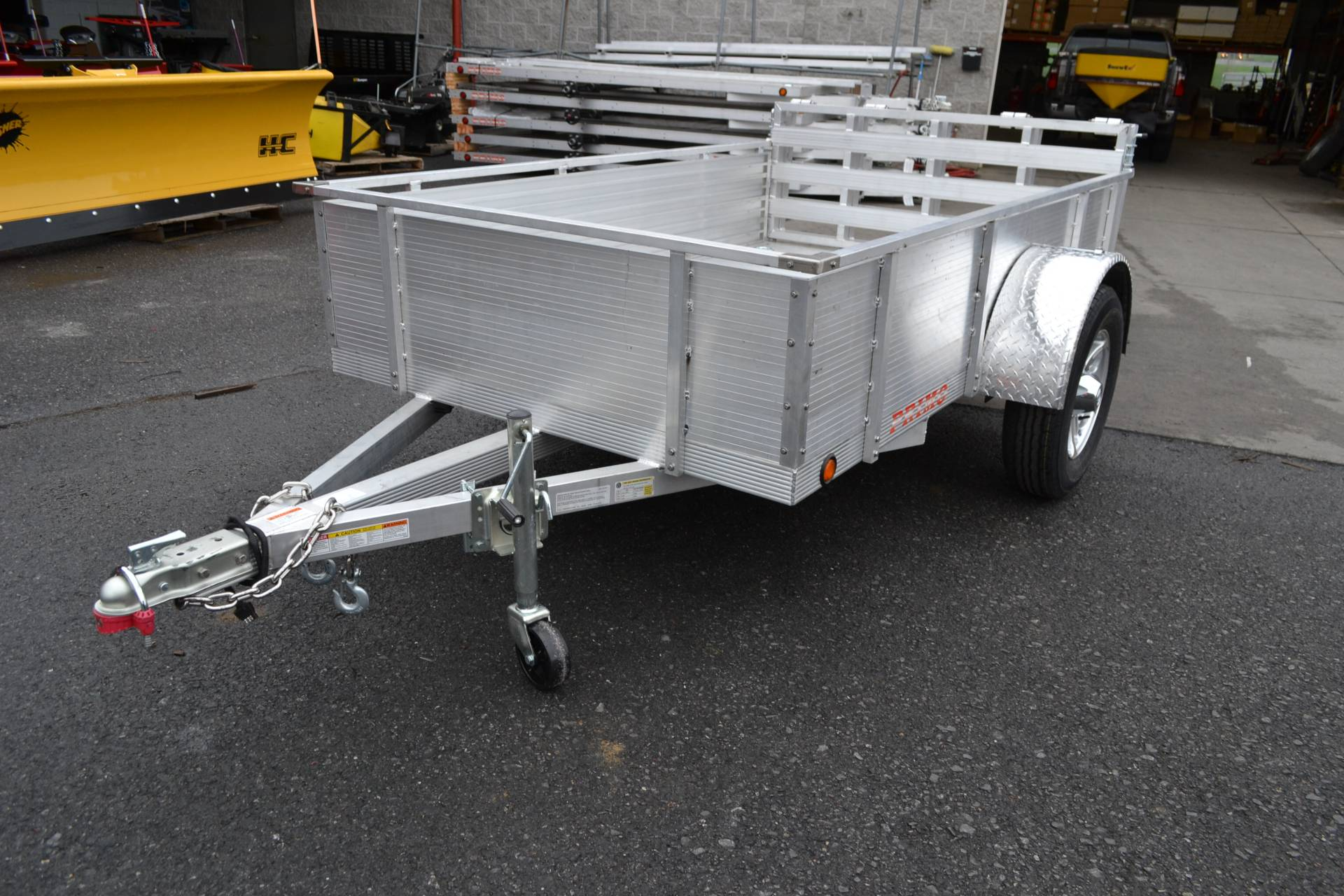 2021 Primo 72x10 Single Axle Utility – 16 High Solid Side in Harrisburg, Pennsylvania - Photo 1