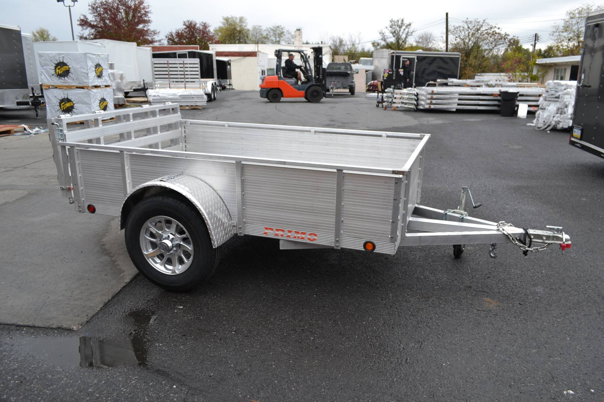 2021 Primo 72x10 Single Axle Utility – 16 High Solid Side in Harrisburg, Pennsylvania - Photo 7